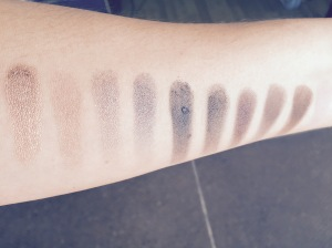 Naked 4 Swatches