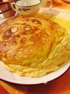 Famous Mère Poulard omelet
