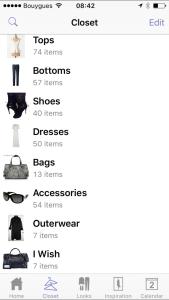 My custom categories