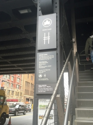 Entrance to the High Line