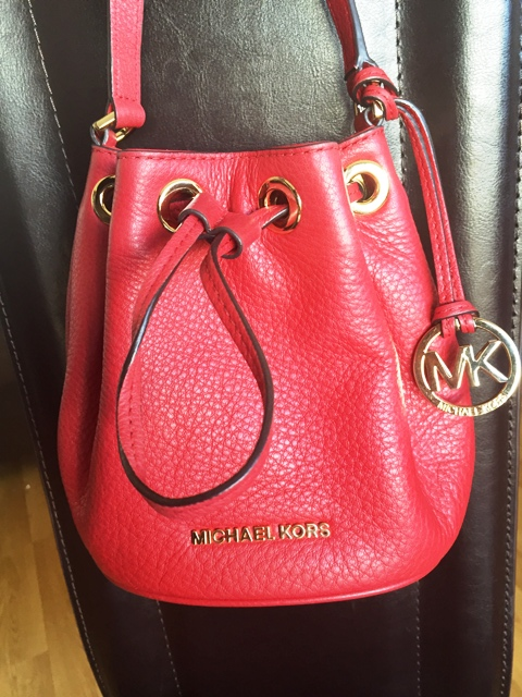 a46558160416 My friends surprised me for my birthday last year with this Michael Kors  Frankie drawstring cross-body Handbag. They knew I love fashion and Handbags  ...