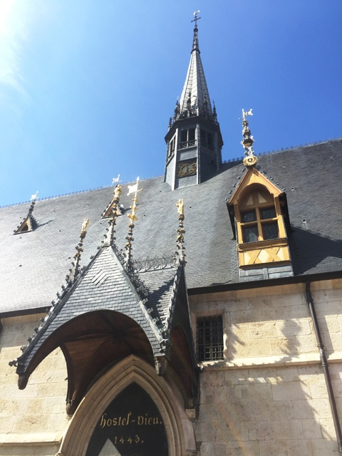 danetigress travel blog beaune hospices hospital museum culture burgundy wine route
