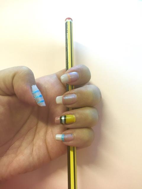 danetigress blog nailart nail mani beauty beautyblog fun back to school polish opi