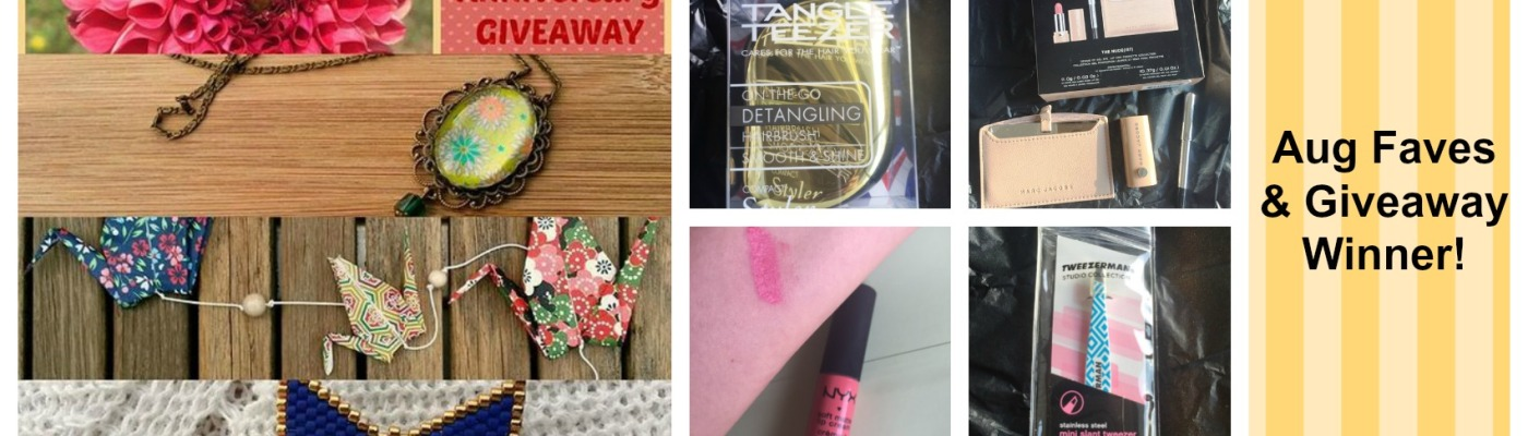danetigress giveaway august favorites beauty marc jacobs nyx matte lip tangle teezer tweezerman highliner eyeliner makeup