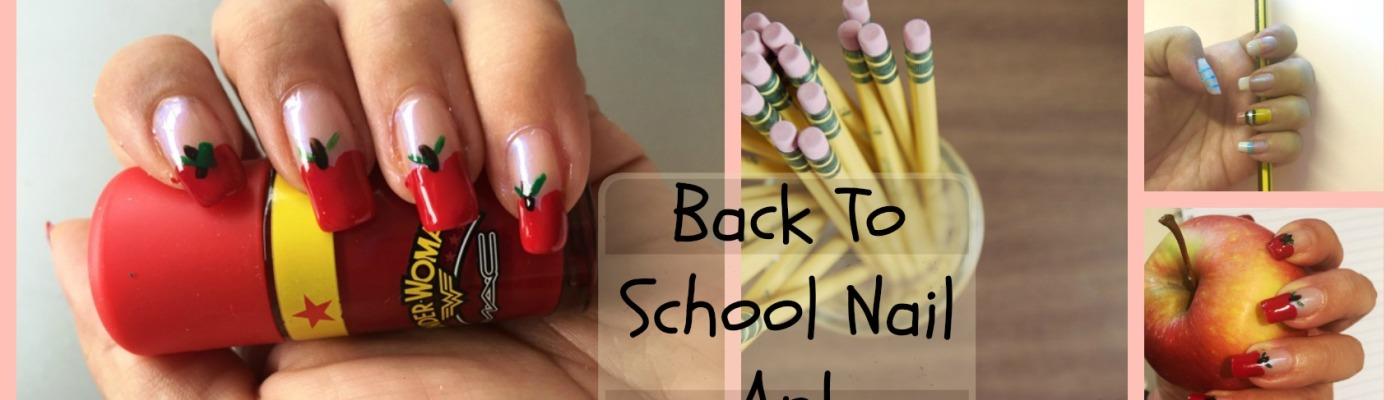 Fun Back to school nail art – danetigress
