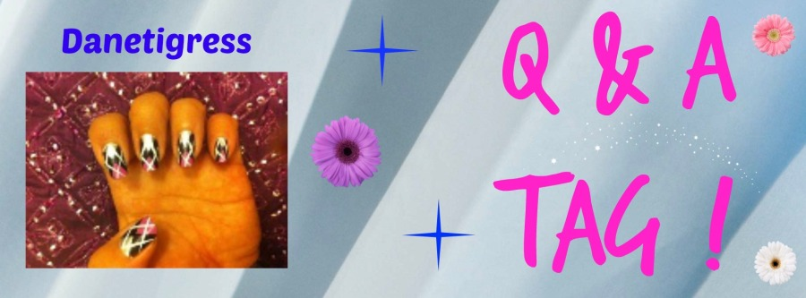 Q&A Tag Danetigress blog beauty fashion makeup travel