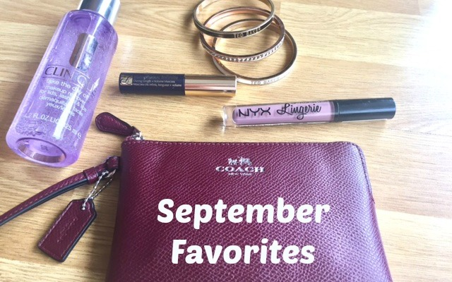 danetigress beauty blog september favorites review coach esteelauder clinique tedbacker nyx