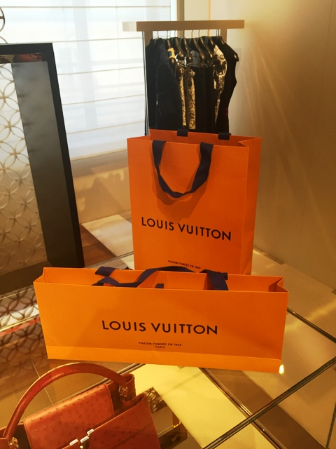 danetigress fashion blog louisvuitton handbag packaging new imperial saffron