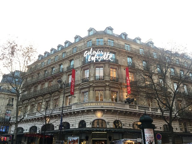 Galeries Lafayette Department Store danetigress